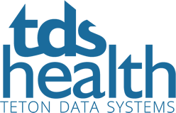 Teton Data Systems Health Logo
